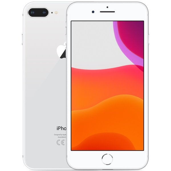 iPhone 8 Plus 256GB Silver - Front image