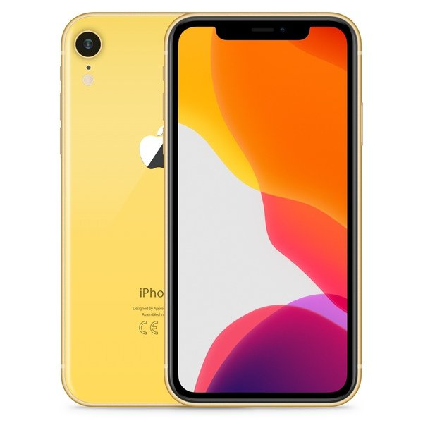iPhone XR 256GB Yellow - Front image