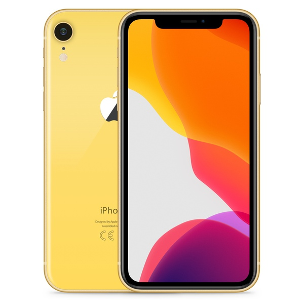 iPhone XR 64GB Yellow - Front image
