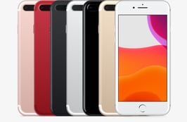 Category image of the different colour variations of iPhone iPhone 7 Plus