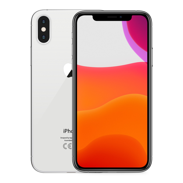 iPhone XS 64GB Silver - Front image