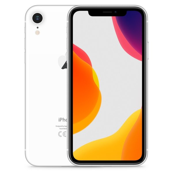 iPhone XR 64GB White - Front image