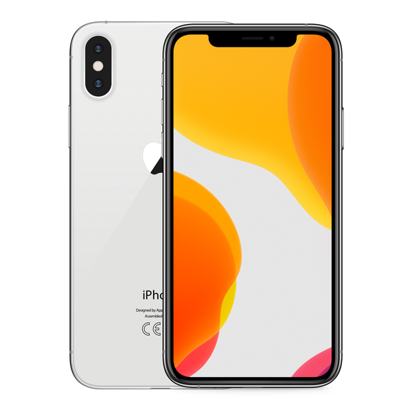 iPhone X 64GB Silver - Image de face