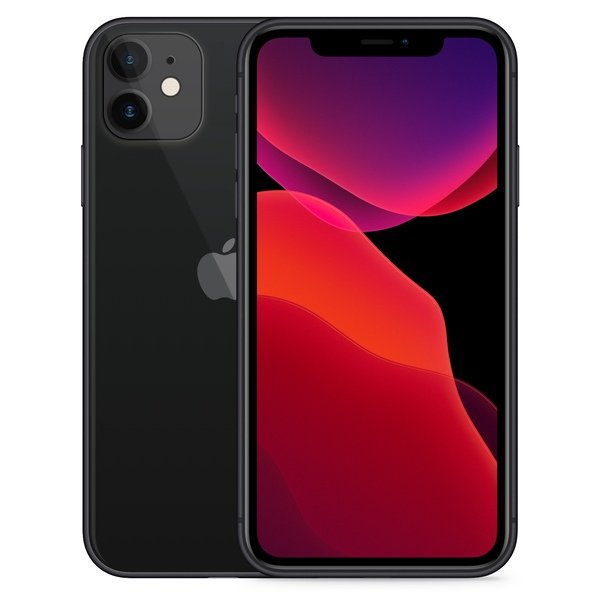 iPhone 11 64GB Black - Front image