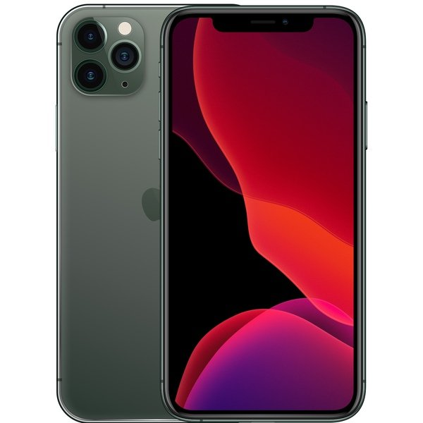 iPhone 11 Pro Max 512GB Midnight Green - Front image