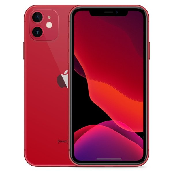 iPhone 11 64GB Red - Front image