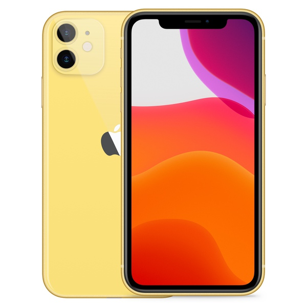 iPhone 11 256GB Yellow - Front image