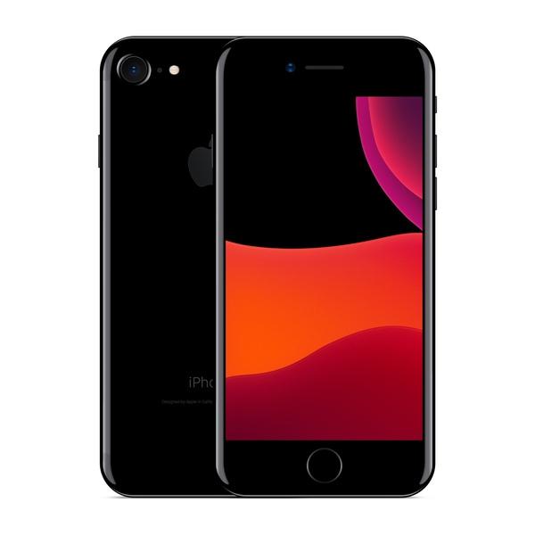 iPhone 7 256GB Jet Black - Front image