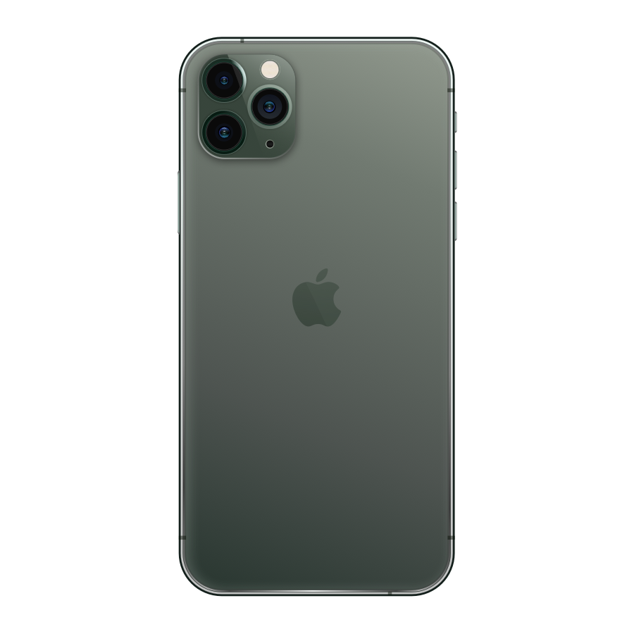 iPhone 11 Pro Max 64GB Midnight Green - Back image