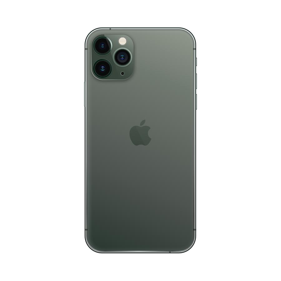iPhone 11 Pro 512GB Midnight Green - Back image