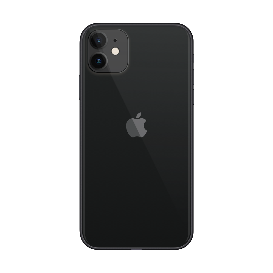 iPhone 11 128GB Black - Back image