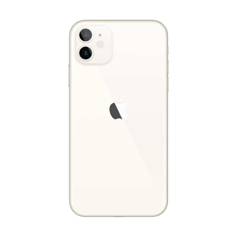 iPhone 11 64GB White - Back image
