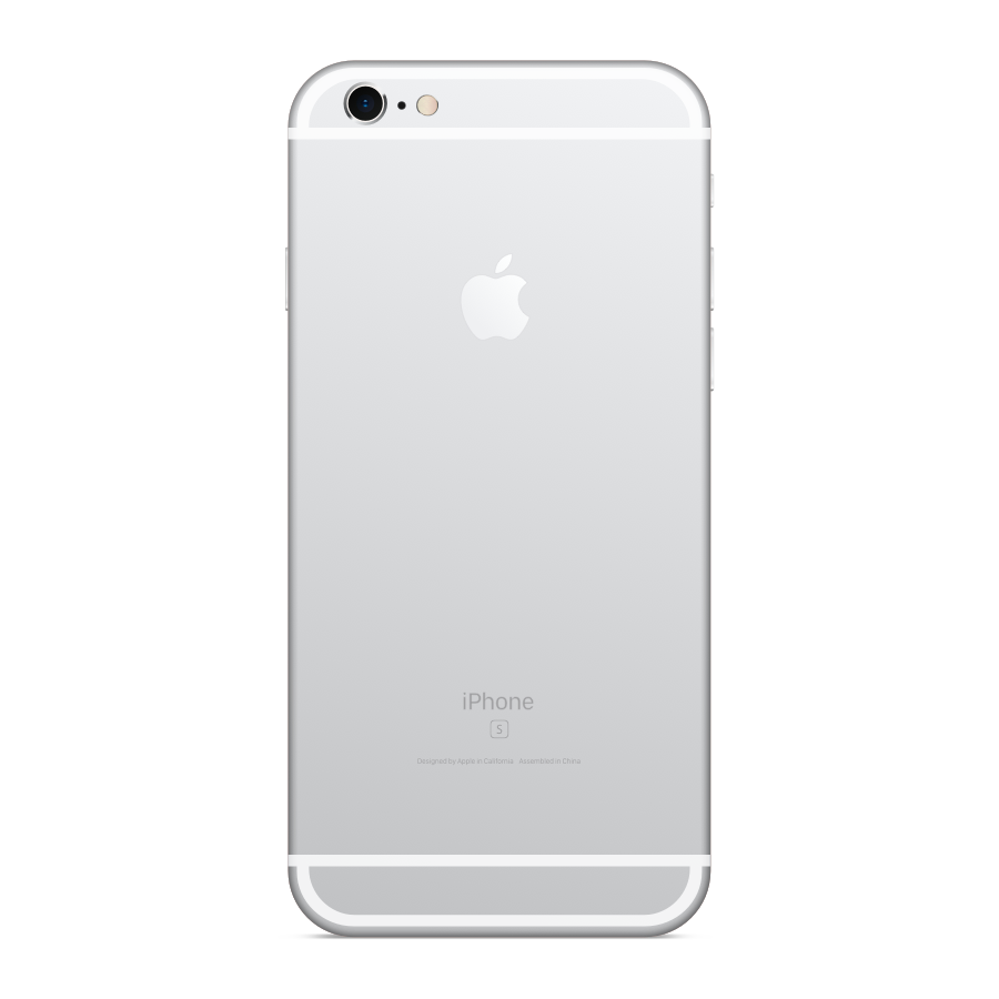 iPhone 6 Plus 16GB Silver - Back image