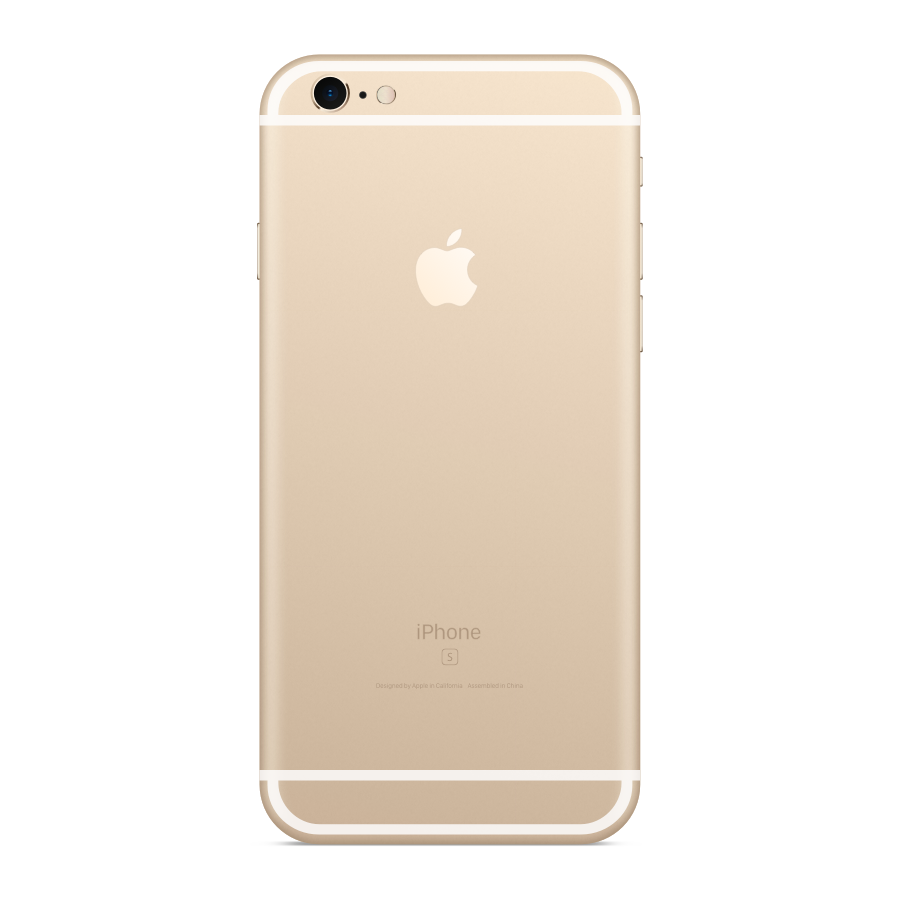 iPhone 6s Plus 16GB Gold - Back image