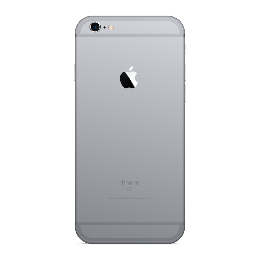 iPhone 6s Plus 64GB Space Gray - Back image