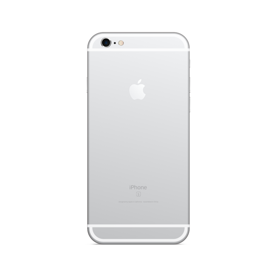 iPhone 6s 64GB Silver - Back image