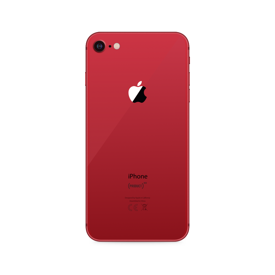 iPhone 8 64GB Red - Back image