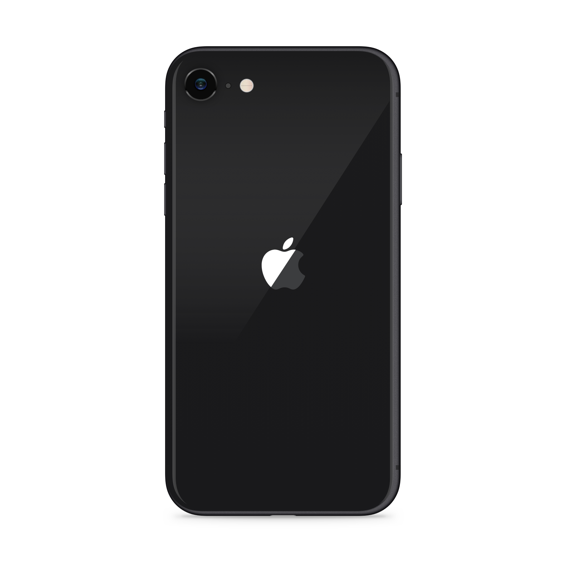 iPhone SE 2020 64GB Black - Back image