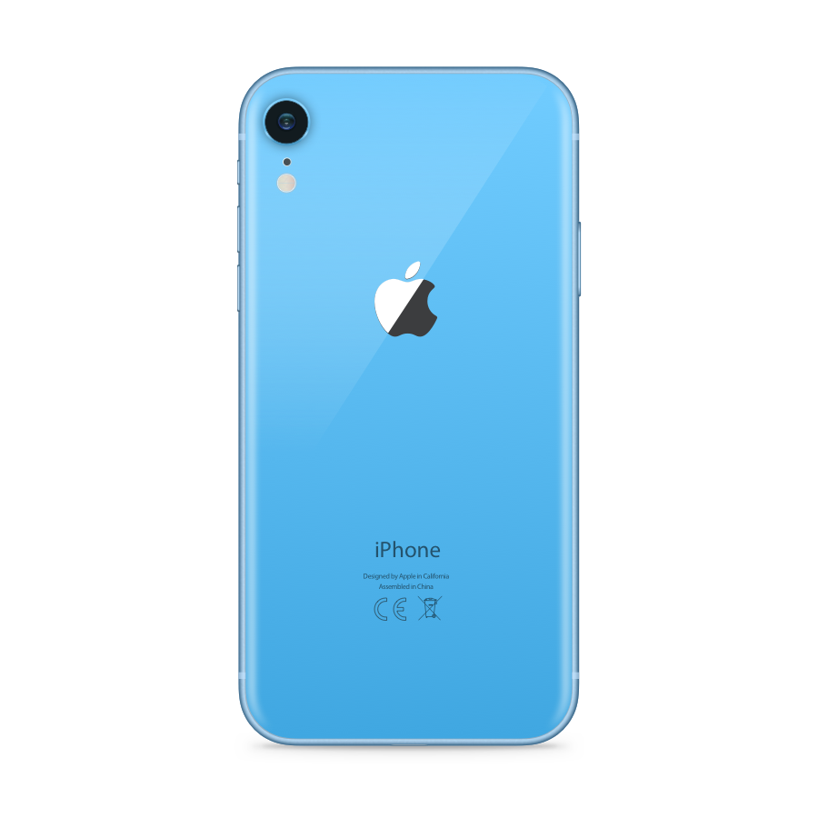 iPhone XR 64GB Blue - Back image