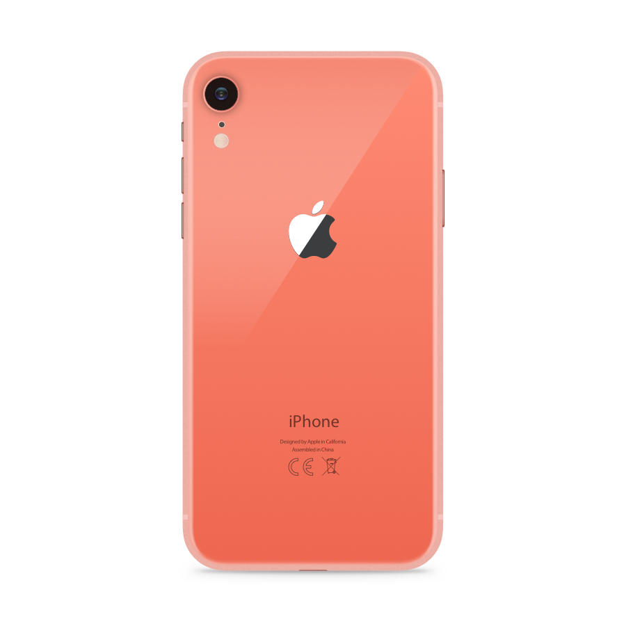 iPhone XR 256GB Coral - Back image