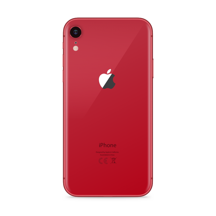 iPhone XR 64GB Red - Back image
