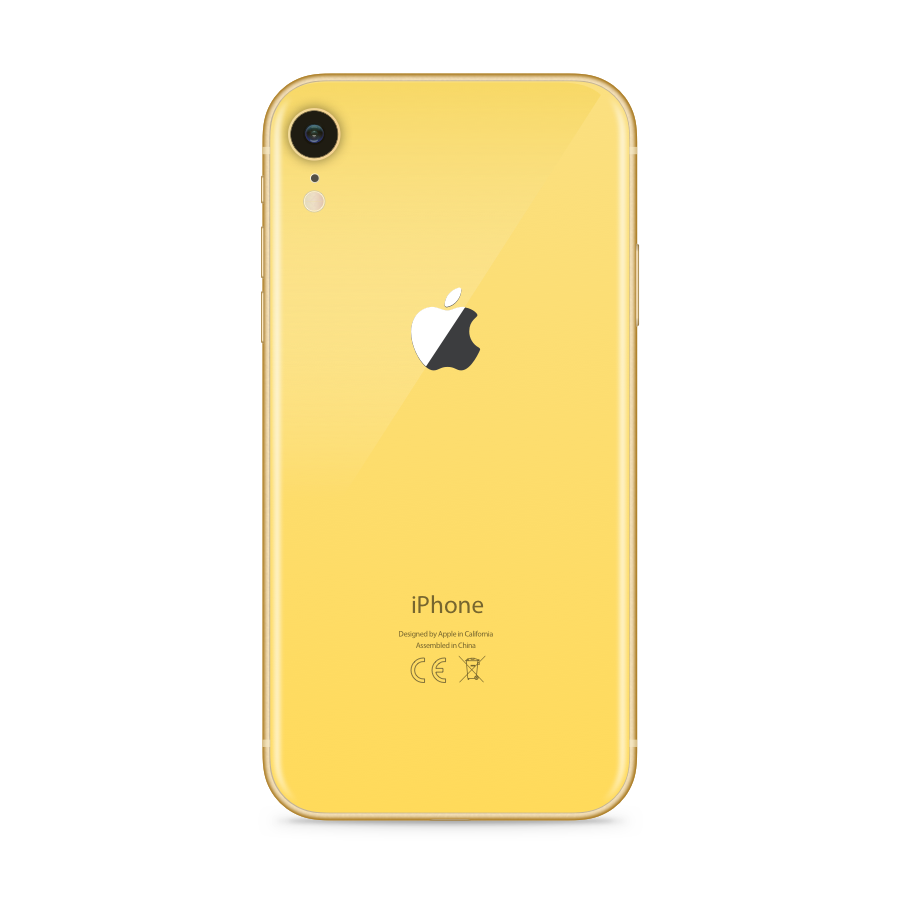 iPhone XR 64GB Yellow - Back image