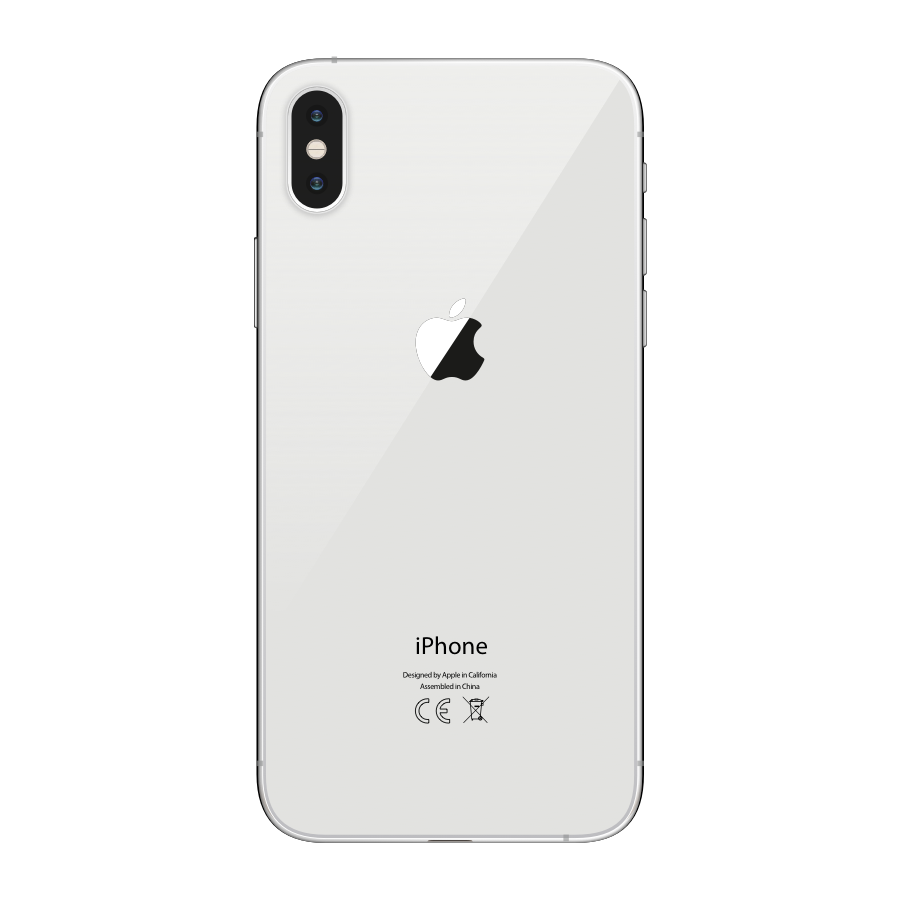 iPhone XS Max 256GB Silver - Back image