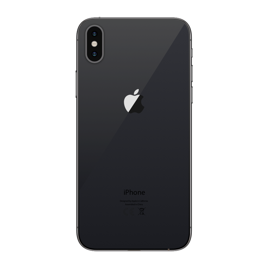 iPhone XS Max 256GB Space Gray - Back image