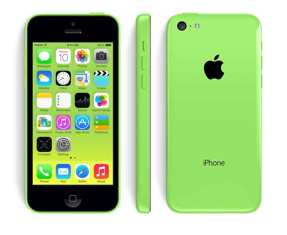 iPhone 5c undefinedGB Green