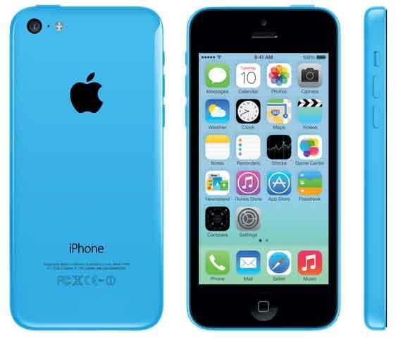 iPhone 5c undefinedGB Blue