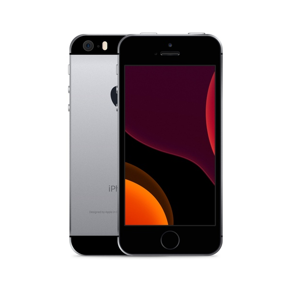 iPhone SE 16GB Space Gray - Front image