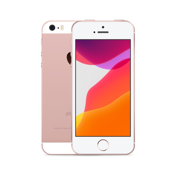 iPhone SE 16GB Rose Gold - Front image