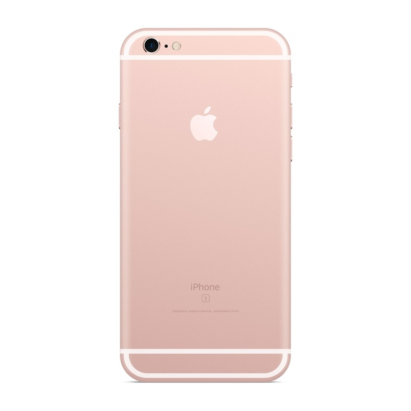 iPhone 6s 64GB Rose Gold - Back image