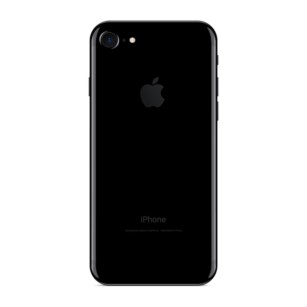 iPhone 7 128GB Jet Black - Back image