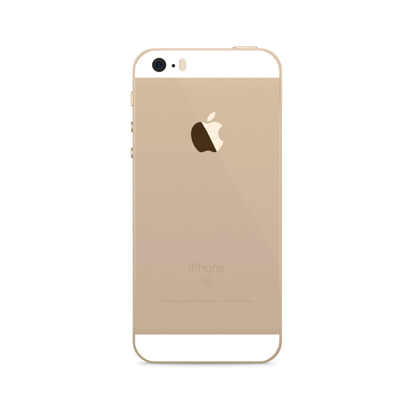 iPhone SE 32GB Gold - Back image