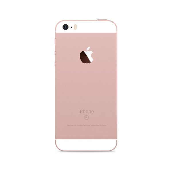 iPhone SE 16GB Rose Gold - Back image