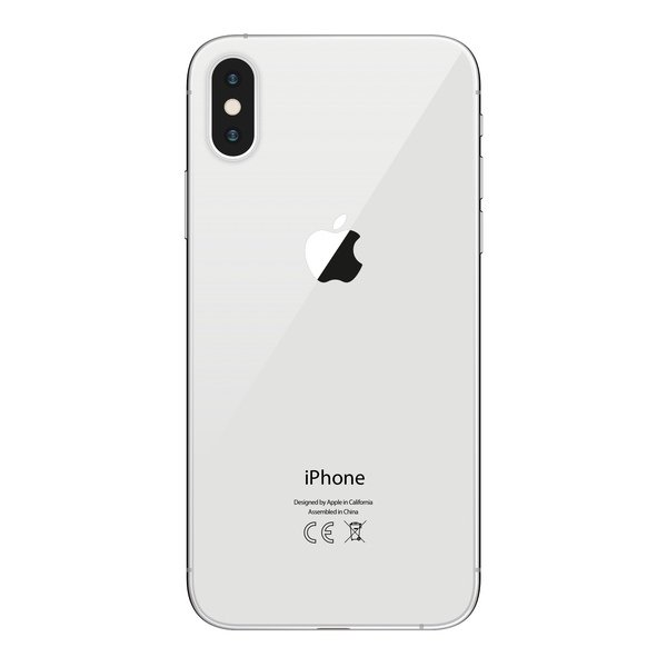 iPhone X 256GB Silver - Back image