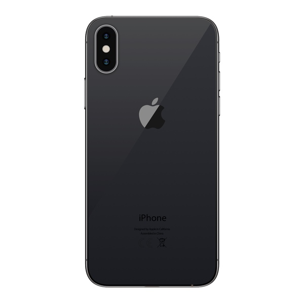 iPhone X 256GB Space Gray - Back image