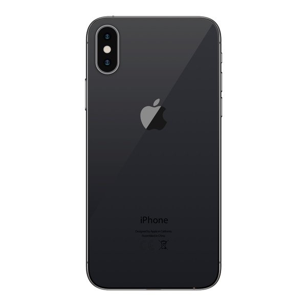 iPhone X 64GB Space Gray - Back image