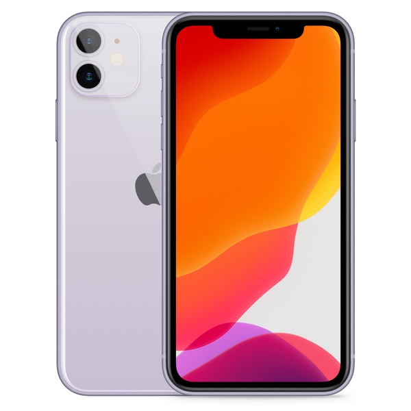 iPhone 11 128GB Purple - Front image